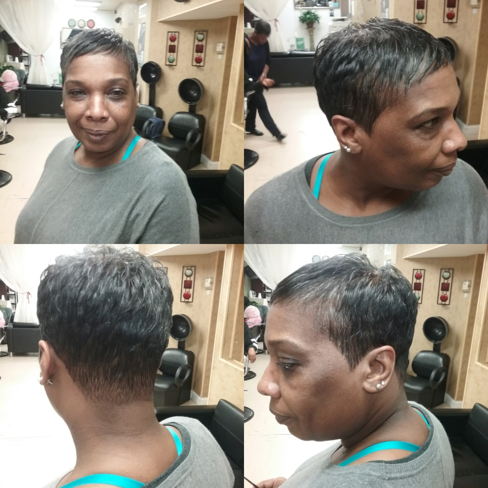 Short styles, haircut, house of hair,salon