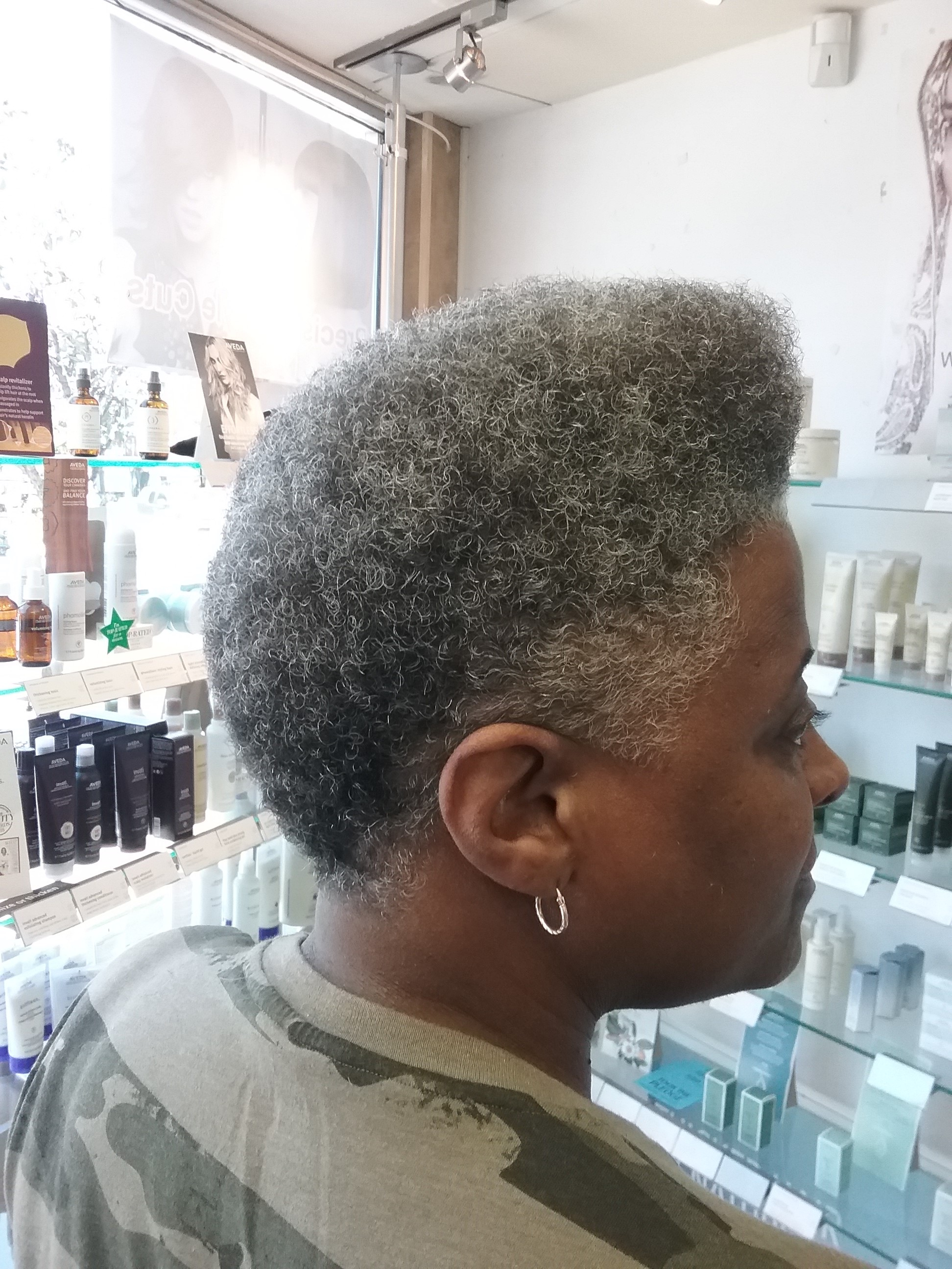 Natural hairstyle, Barber cut