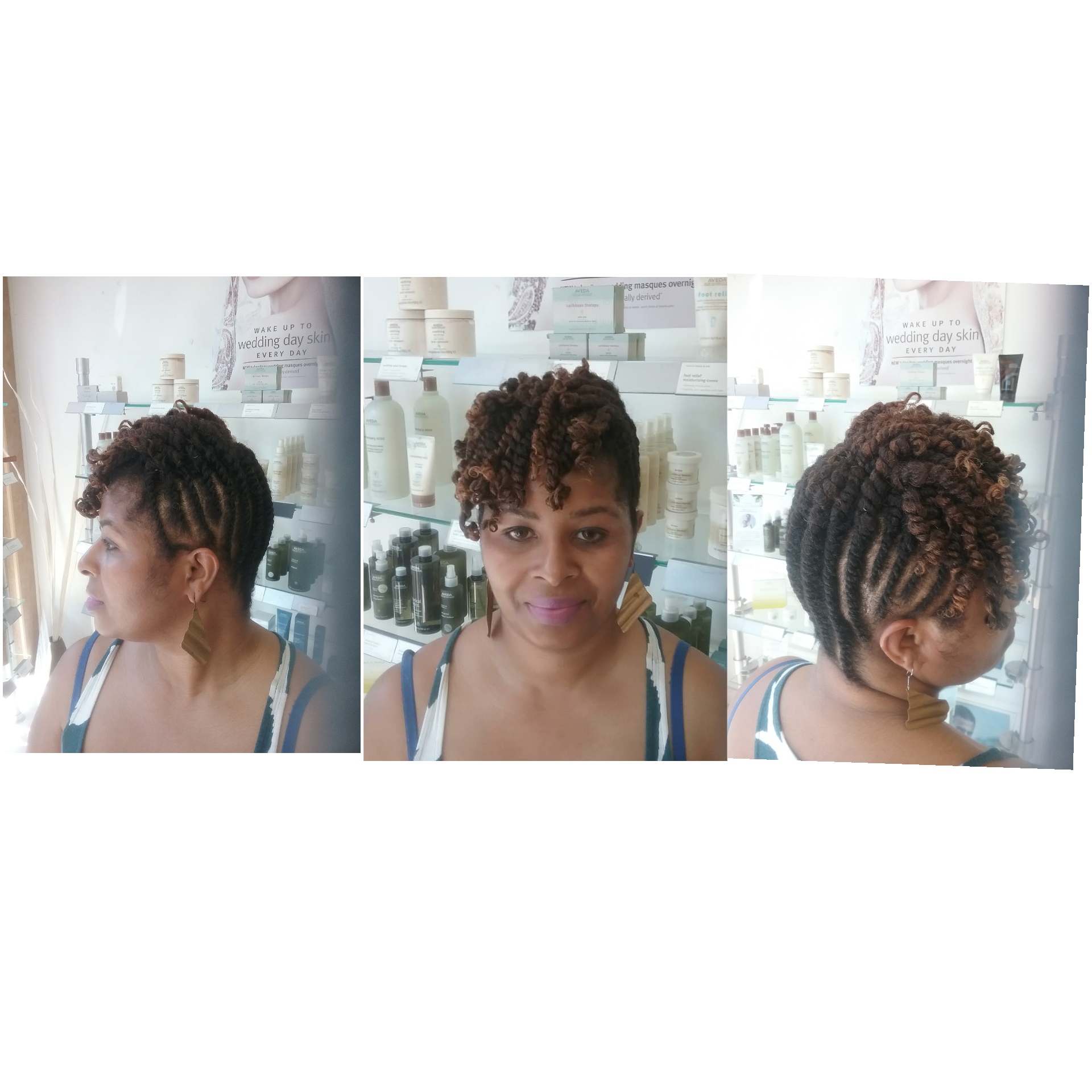 Double Strand Twists, Natural Hair